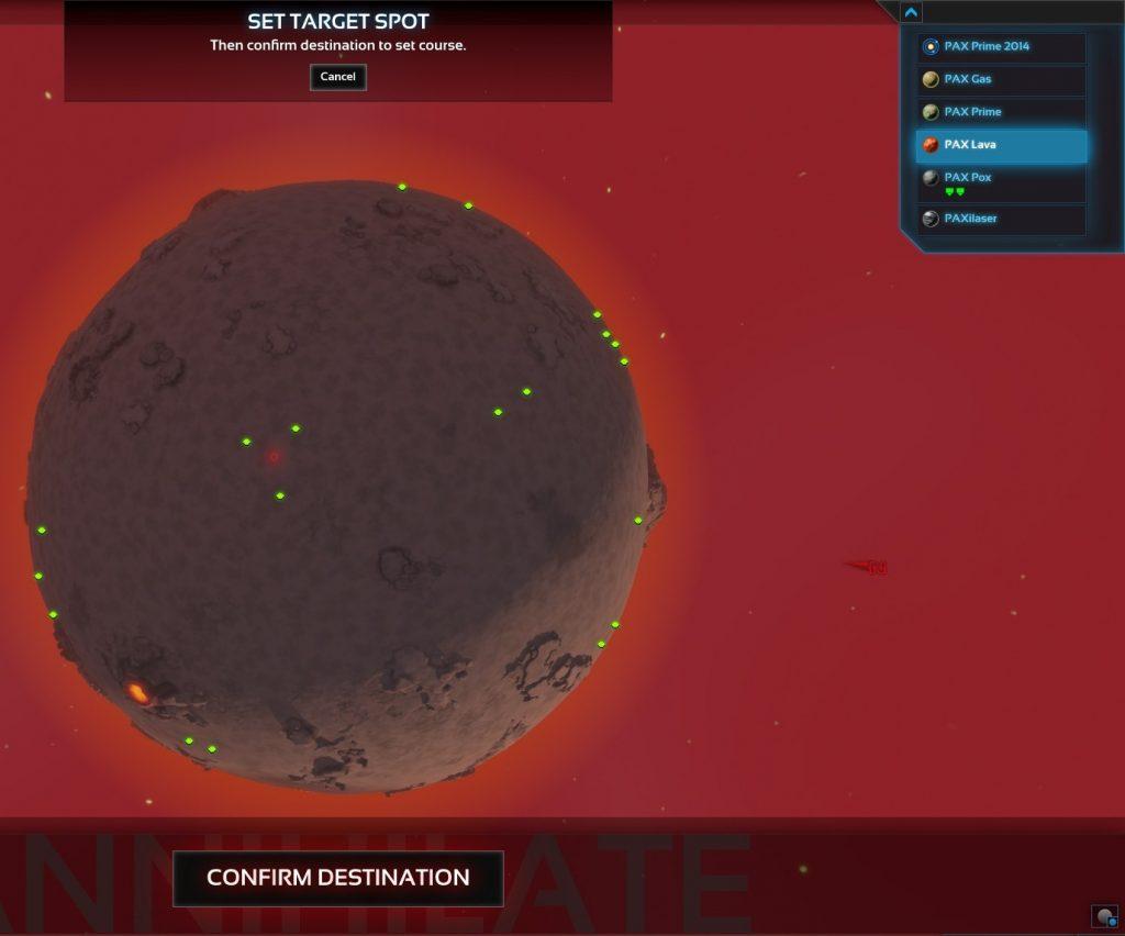 Confirming smash target