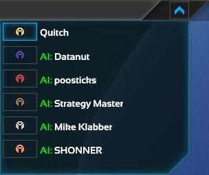 Player list